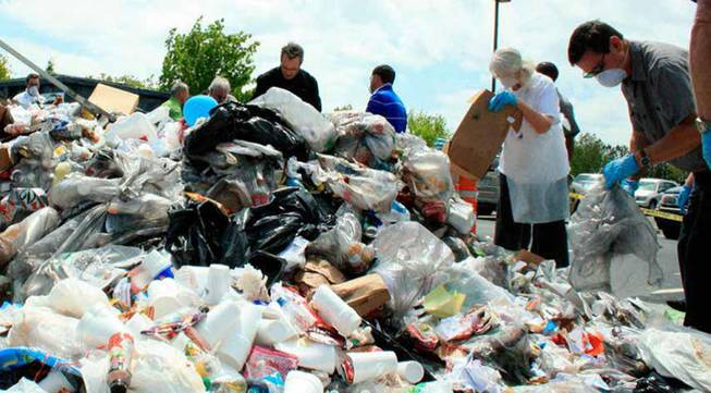 Aflac's employee-led Green Committee regularly sponsors events that increase sensitivity to the environment.  On Earth Day last year, Aflac dumped a truck load of office trash onto the parking lot of the Georgia-based company's headquarters.  Employees combed the cast-offs in search of recyclable plastic, aluminum, and cardboard that should have been placed in separate disposal bins. Such efforts divert 1.5 million pounds of Aflac waste from landfills annually.