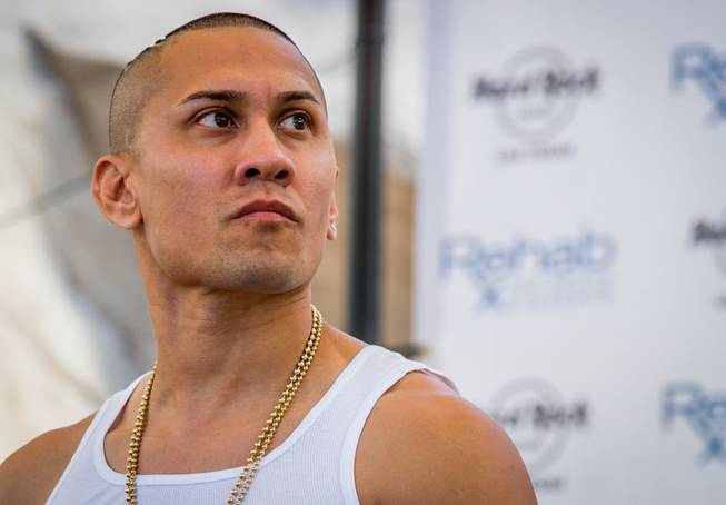 Taboo of The Black Eyed Peas spins at Rehab on ...