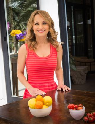 Giada De Laurentiis hosts a sneak preview of her restaurant, Giada, and its menu on Thursday, April 24, 2014, at Caesars Palace. Giada is scheduled to open at the new boutique hotel The Cromwell next month.