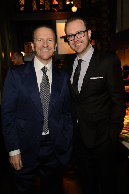 Hakkasan Group CEO Neil Moffitt and Hakksan Group President Nick ...