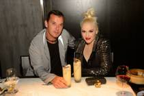 Rock star couple Gavin Rossdale and Gwen Stefani attend Night 3 of Hakkasan's first-anniversary celebrations Saturday, April 26, 2014, at MGM Grand.