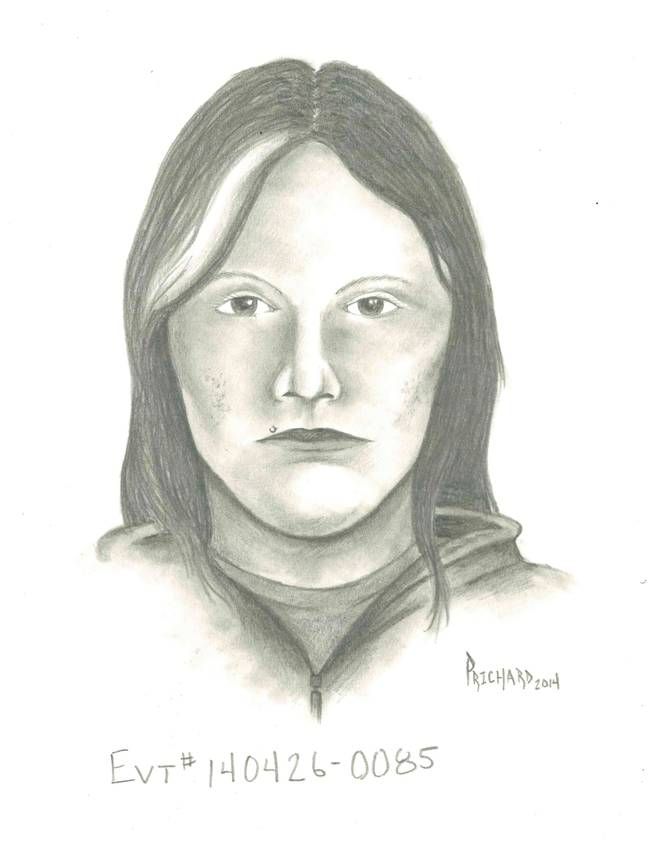 A Metro Police sketch of a woman suspected in Saturday's carjacking in the southeast area of the Las Vegas Valley.