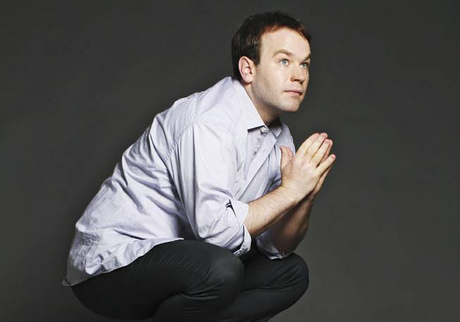 Taking the leap: Mike Birbiglia (finally) debuts on the Vegas comedy circuit this weekend.