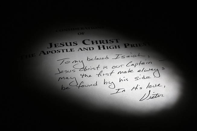 "The book, ""Considerations of Jesus the Apostle and High Priest,"" was written by the leader of the River Road Fellowship in Minnesota. Victor Barnard, the former leader of the ministry, has been charged with using his control over members to coerce girls into sex with him."