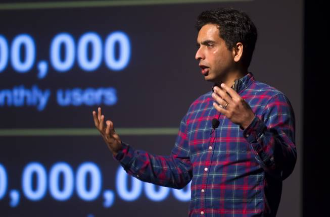 "Sal Khan, the founder of Khan Academy and one of TIME Magazine's ""100 Most Influential People"", brings his entrepreneurial spirit and groundbreaking approach to education to Las Vegas on Monday, May 5, 2014. He  speaks about online education and financial literacy during WACUBO14 at the J.W. Marriott."