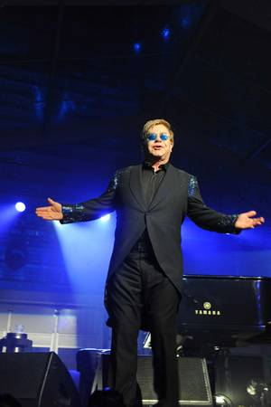 Sir Elton John at Battersea