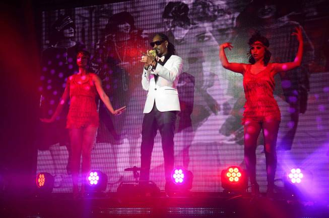 Snoop Dogg debuts his Snoopadelic Cabaret at Tao on Saturday, ...