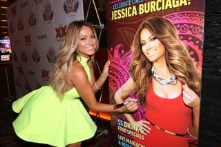 Jessica Burciaga hosts at Tacos & Tequila on Monday, May 5, 2014, in the Luxor.