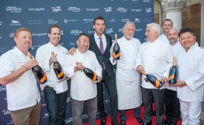 The saber-off for the eighth-annual Vegas Uncork'd by Bon Appetit ...