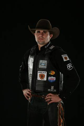 Markus Mariluch. Oklahoma City Built Ford Tough series PBR. Photo by Andy Watson