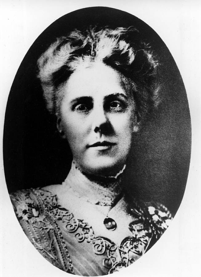 This is an undated picture of Anna Jarvis, from Grafton, W.Va., who promoted and achieved the proclamation of Mother's Day as a national holiday, in honor of her mother, Anna Marie Reeves Jarvis.