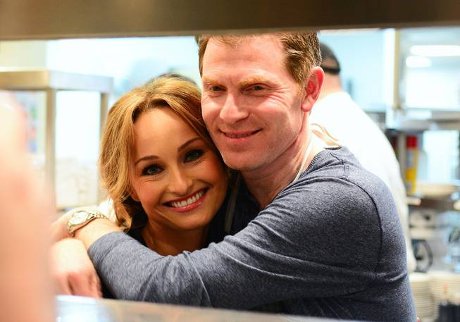 Giada De Laurentiis and Bobby Flay co-host a Master Series ...