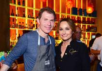 Bobby Flay and Giada De Laurentiis co-host a Master Series dinner at his Mesa Grill on Thursday, May 8, 2014, in Caesars Palace.
