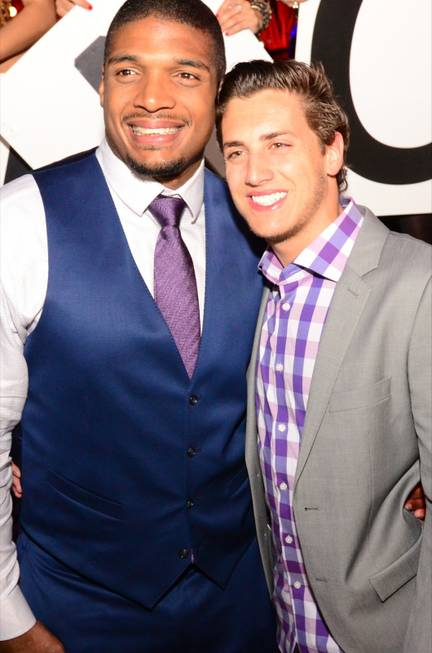 Michael Sam and Vito Cammisano at Tao on Saturday, May ...