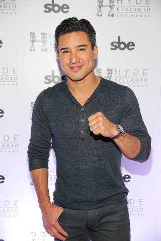 Mario Lopez hosts the Cinco de Mayo bash at Hyde Bellagio on Saturday, May 3, 2014, in Las Vegas.
