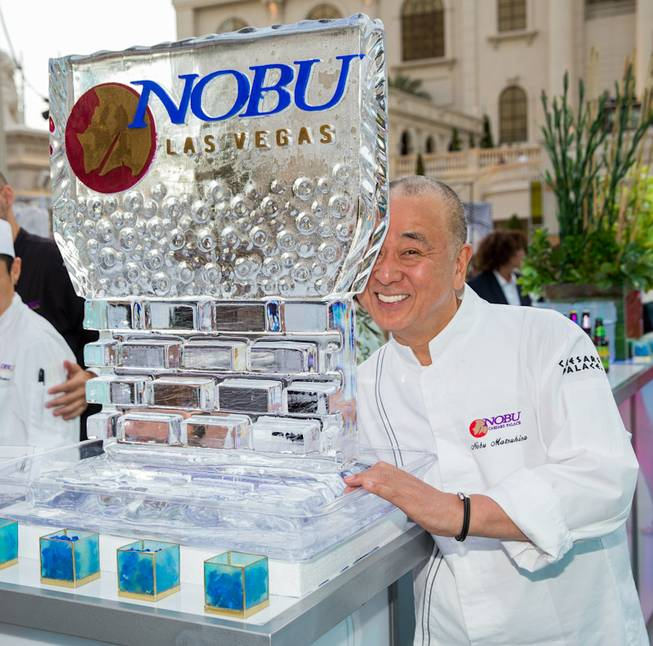 Nobu Matsuhisa attends the Grand Tasting of 2014 Vegas Uncork'd ...