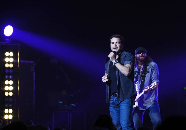 Mike Eli and James Young of the Eli Young Band ...