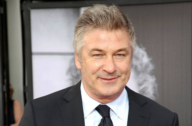 This April 10, 2014, file photo shows actor Alec Baldwin at the 2014 TCM Classic Film Festival's Opening Night Gala in Los Angeles. Baldwin is hoping next week's United Nations climate summit brings home to Americans that the United States has fallen behind other countries in promoting wind and solar power.