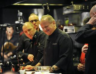 Joël Robuchon at MGM Grand on Saturday, May 10, 2014.
