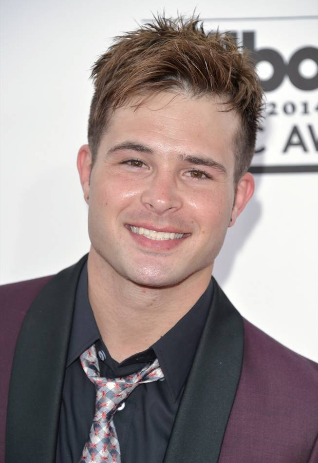 Cody Longo arrives at the 2014 Billboard Music Awards at MGM Grand Garden Arena on Sunday, May 18, 2014, in Las Vegas.