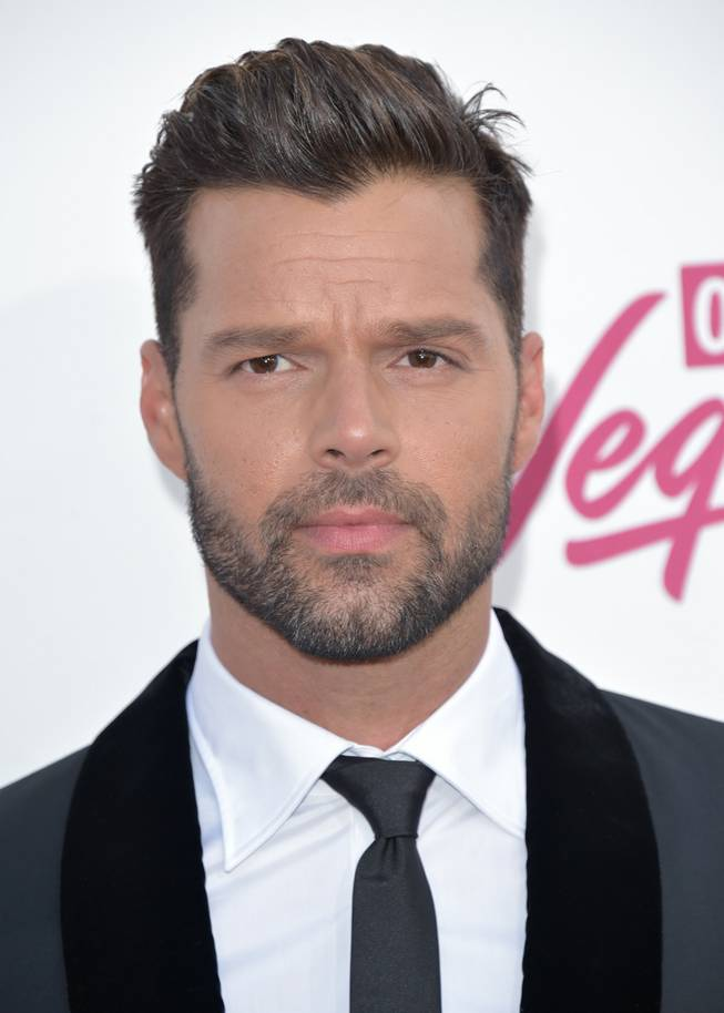 Ricky Martin arrives at the 2014 Billboard Music Awards at MGM Grand Garden Arena on Sunday, May 18, 2014, in Las Vegas.