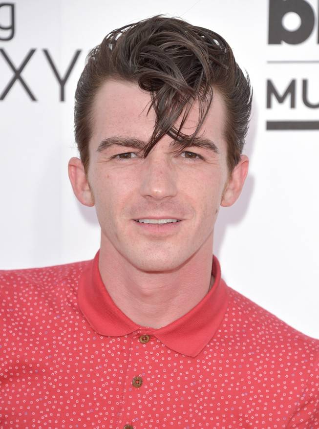 Drake Bell arrives at the 2014 Billboard Music Awards at MGM Grand Garden Arena on Sunday, May 18, 2014, in Las Vegas.