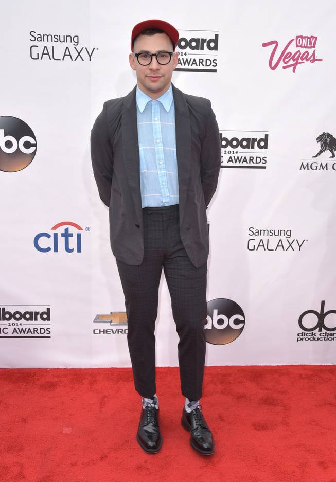 Jack Antonoff arrives at the 2014 Billboard Music Awards at MGM Grand Garden Arena on Sunday, May 18, 2014, in Las Vegas.
