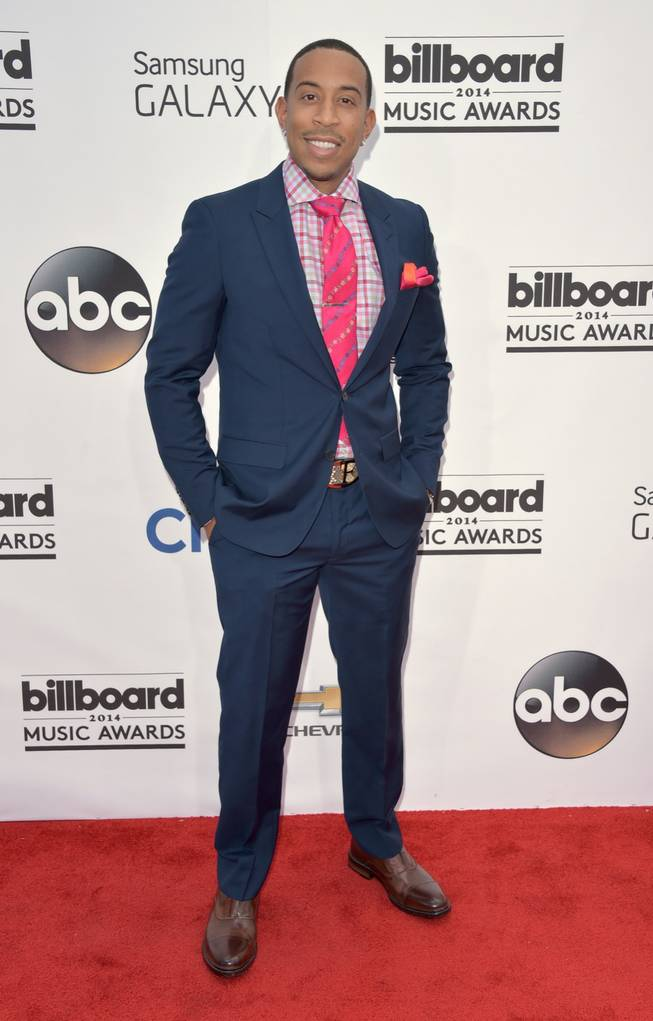 Host Ludacris arrives at the 2014 Billboard Music Awards at MGM Grand Garden Arena on Sunday, May 18, 2014, in Las Vegas.