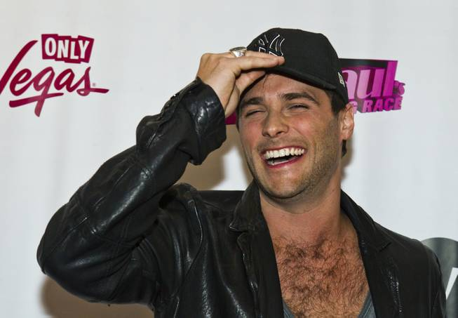 "Josh Strickland laughs on the Red Carpet for ""RuPaul's Drag Race"" at the Season 6 Finale Viewing Party featuring a live screening of the show at The New Tropicana on Monday, May 19, 2014."