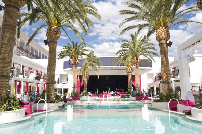 A preview inside Drai's Beach Club/Nightclub at The Cromwell, Wednesday May 21, 2014. The Cromwell is the first stand-alone boutique hotel located on the Las Vegas Strip.