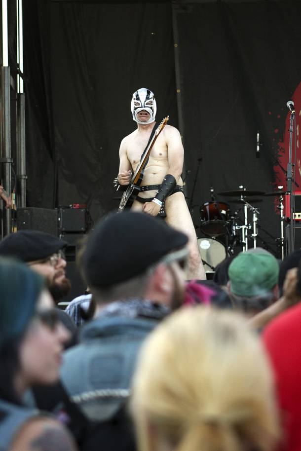 The Dwarves perform at the Punk Rock Bowling & Music Festival Sunday, May 25, 2014.
