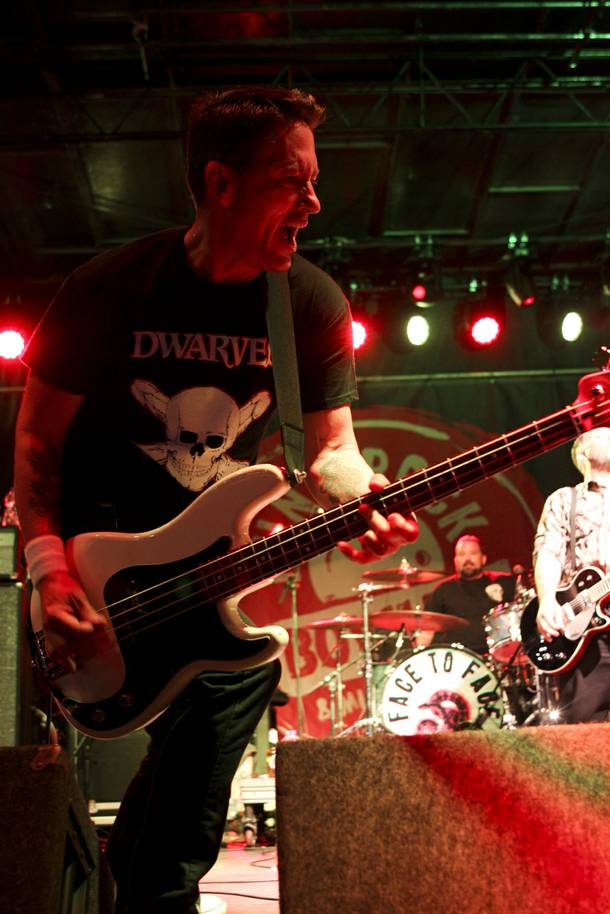Face To Face performs at the Punk Rock Bowling & Music Festival Sunday, May 25, 2014.