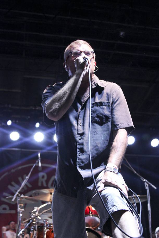 The Descendents perform at the Punk Rock Bowling & Music Festival Sunday, May 25, 2014.