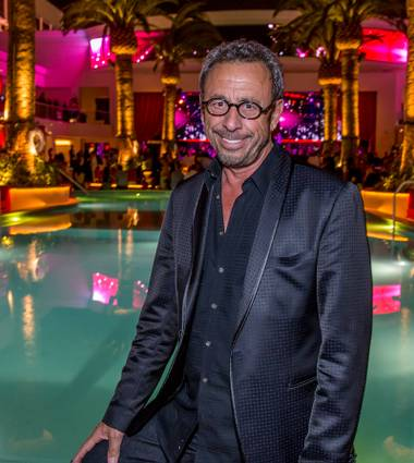 Victor Drai attends Drai's Beach Club and Nightclub opening night Friday, May 23, 2014, atop the Cromwell in Las Vegas.