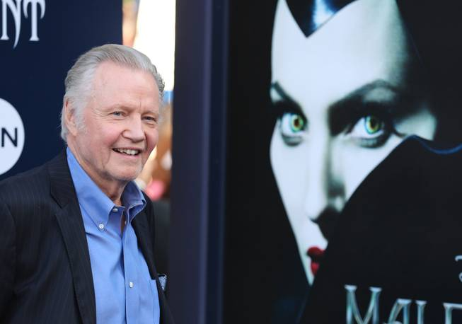 "Jon Voight arrives at the world premiere of ""Maleficent"" at the El Capitan Theatre on Wednesday, May 28, 2014, in Los Angeles."