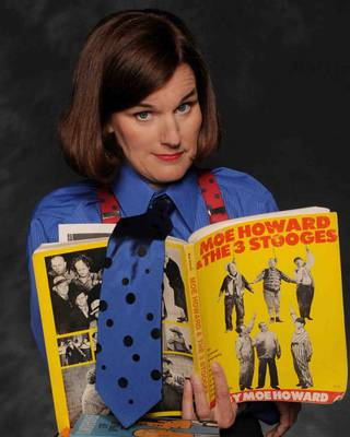 Comedienne Paula Poundstone at the Ice House on May 22, 2008, in Pasadena, Calif.