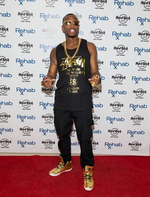 B.o.B. at Rehab in the Hard Rock Hotel on Sunday, ...