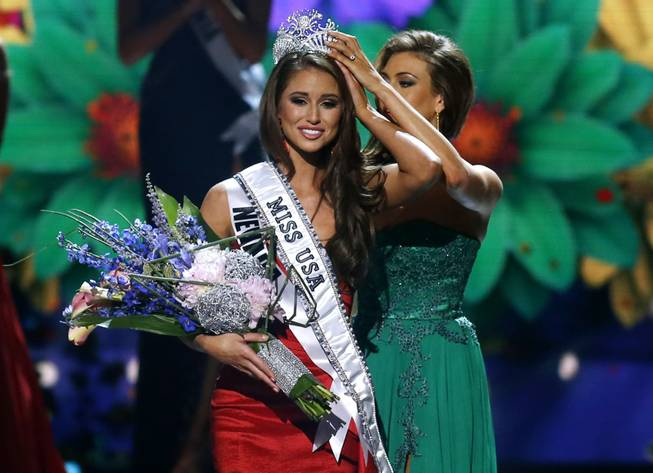 2014 Miss USA Nia Sanchez