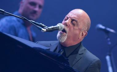 Billy Joel at MGM Grand Garden Arena on Saturday, June 7, 2014, in Las Vegas. Gavin DeGraw was the opening act.