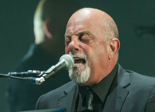 Billy Joel and Gavin DeGraw at MGM Grand