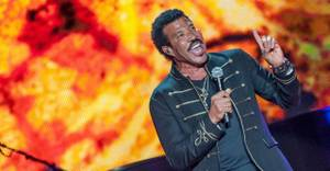 Lionel Richie and CeeLo Green at Mandalay Bay