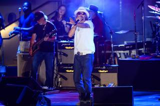 Kid Rock at Boulevard Pool on Friday, June 6, 2014, in the Cosmopolitan of Las Vegas.