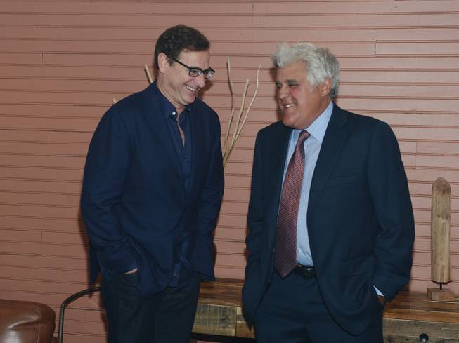 Bob Saget and Jay Leno at the Scleroderma Research Foundation ...