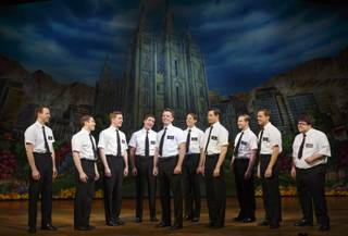 "The second national tour of the nine-time Tony Award-winning ""The Book of Mormon"" now at the Smith Center for the Performing Arts through July 6, 2014."
