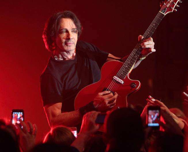 Singer songwriter Rick Springfield performs onstage at Harrahs Casino on Saturday, March 23, 2013, in Philadelphia.
