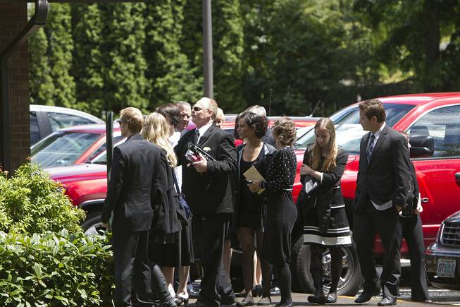 A funeral service for Jared Padgett was held Monday, June 16, 2014, at the Church of Jesus Christ of Latter-Day Saints in Gresham, Ore. The 15-year-old boy who fatally shot a fellow freshman at an Oregon high school last week has been laid to rest.