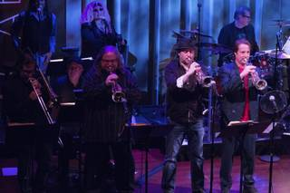 Lon Bronson's All-Star Band at Caberet Jazz at the Smith Center in March 2014.