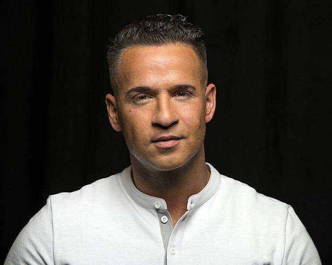 "Mike ""The Situation"" Sorrentino, reality television star from the MTV Series ""Jersey Shore,"" is shown in New York, Sept. 9, 2013."