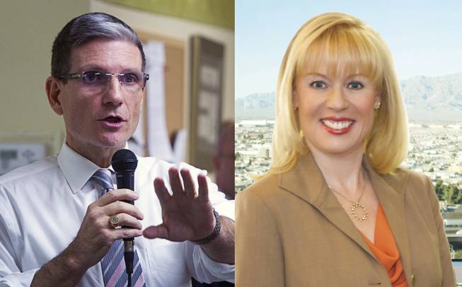 Republican Joe Heck and Democrat Erin Bilbray are bidding for Nevada's 3rd Congressional District seat in the 2014 November general election.