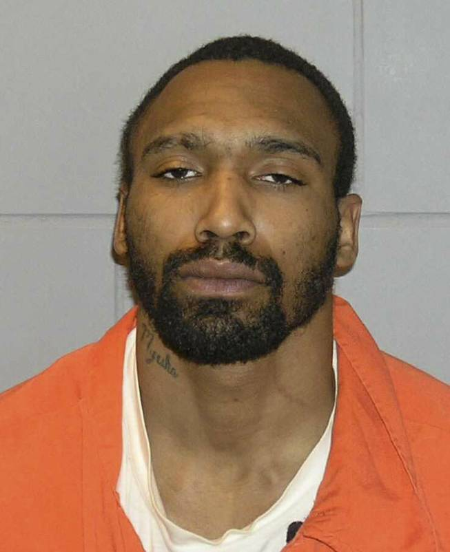 This undated file photo provided by the U.S. Marshals Service shows Antun Lewis. Lewis, 30, of Cleveland, twice convicted of killing nine people in Cleveland's deadliest arson fire, is scheduled to be sentenced Friday, June 20, 2014, in federal court.